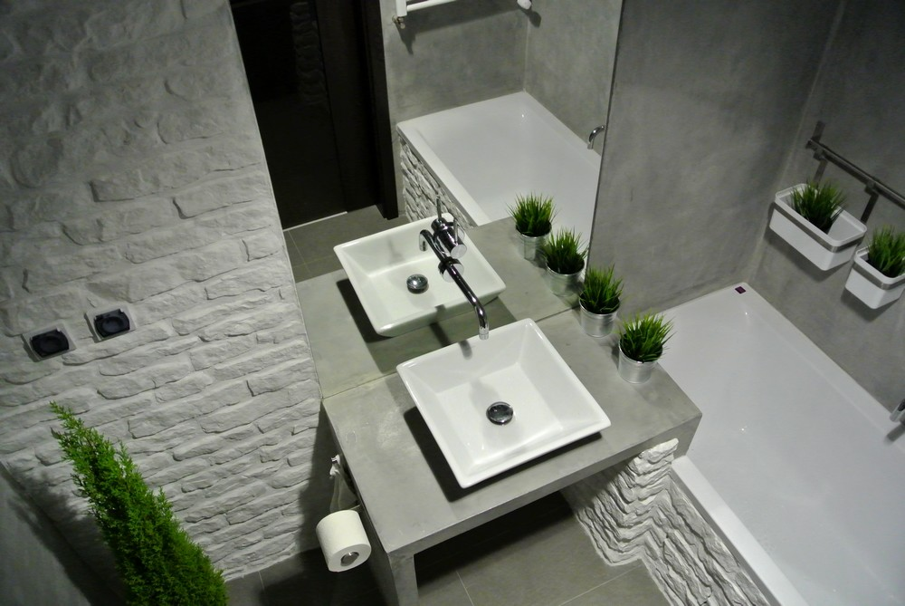 Beton W łazience Imindesign