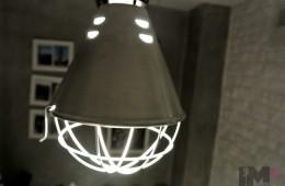 Lampa z piwnicy rodem