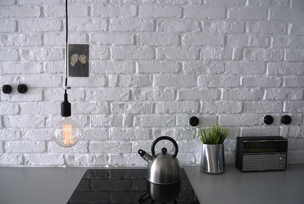 Lampa wisząca czarna silikonowa oprawka E27 żarówka dekoracyjna edison imindesign